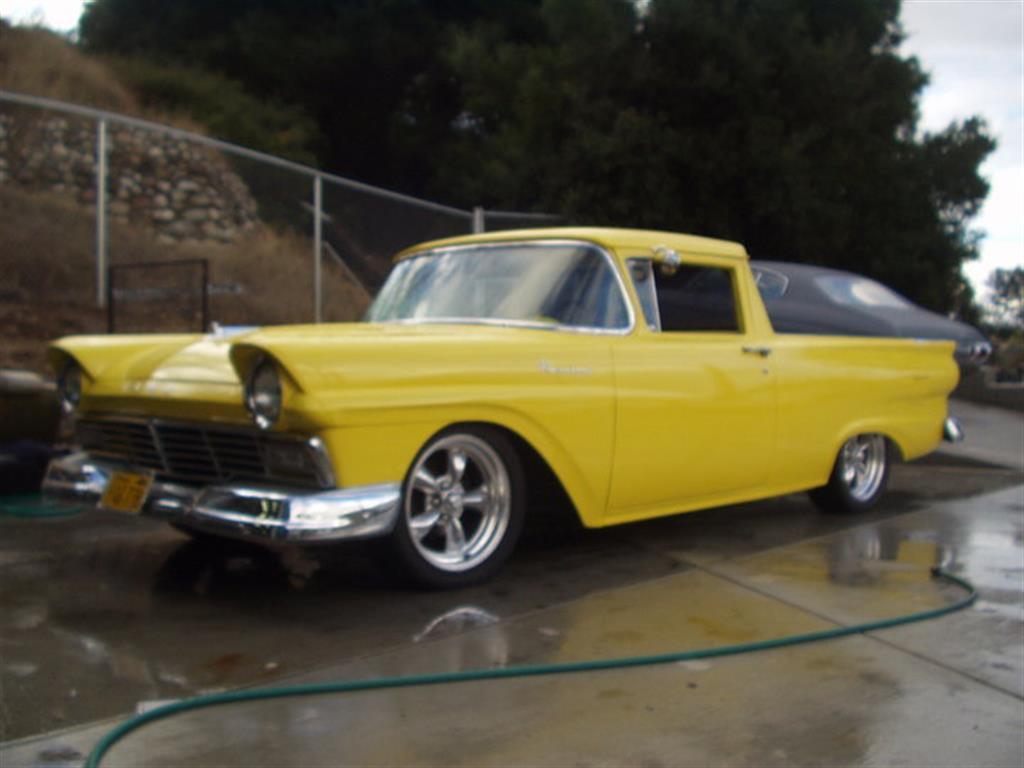Ford - Ranchero - 1957 - Wheels & Tires - Paint -  Wraps & Body - Lighting - Performance