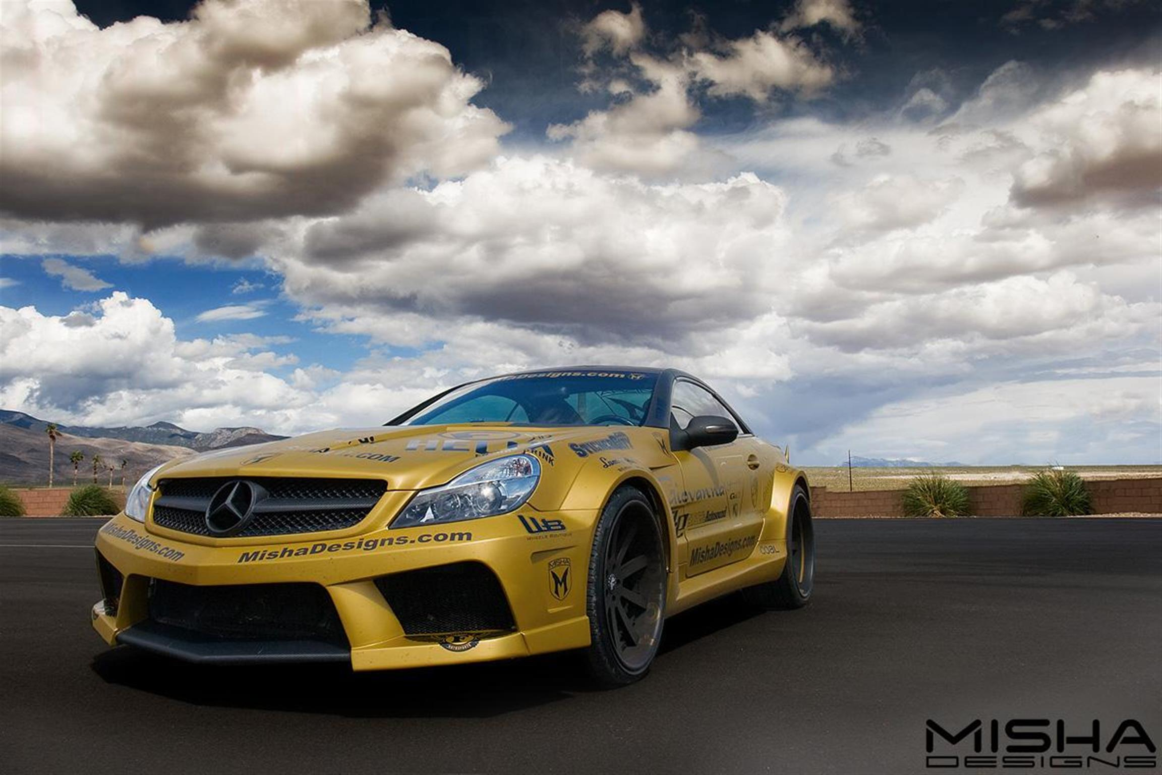 Mercedes-Benz - SLS AMG -  - Paint -  Wraps & Body