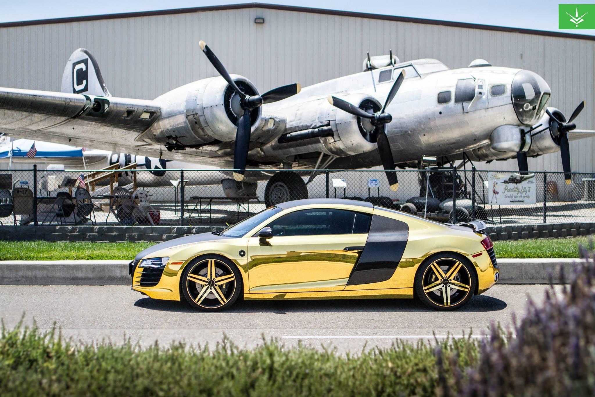 Audi - R8 - 2013 - Wheels & Tires