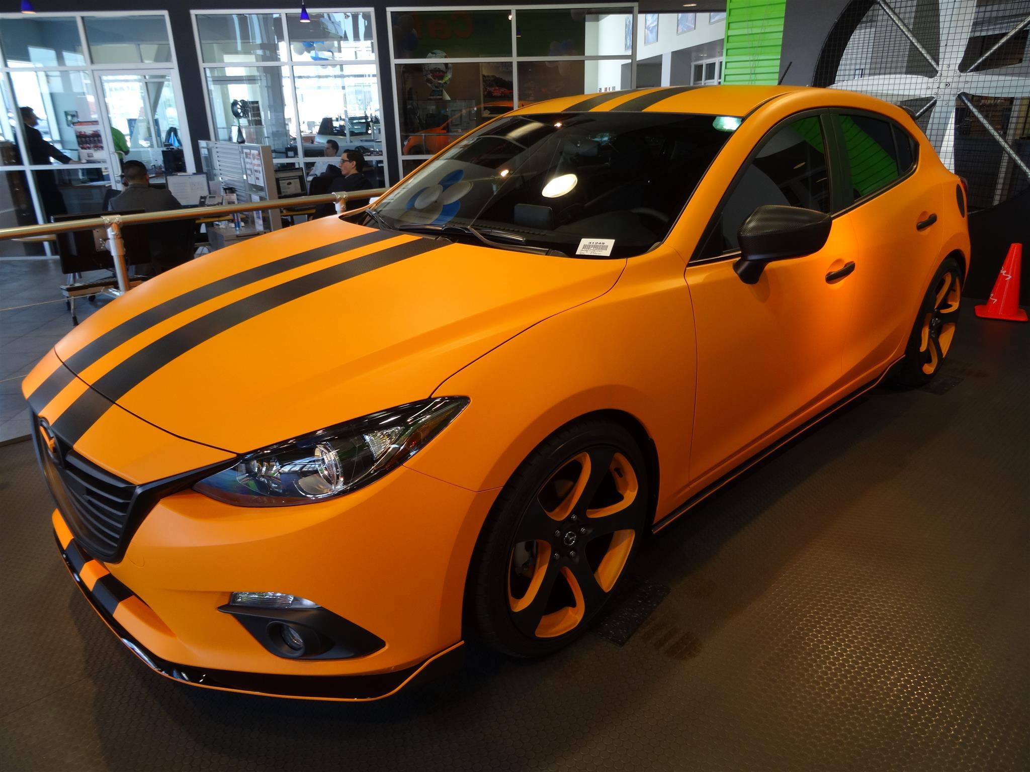 Mazda - MAZDA3 - 2015 - Wheels & Tires - Paint -  Wraps & Body - Performance - Trim & Accessories