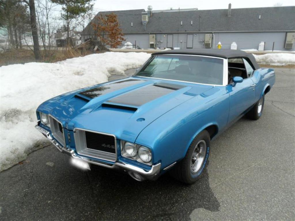 Oldsmobile - 442 - 1971 - Wheels & Tires - Paint -  Wraps & Body - Lighting - Interior - Performance