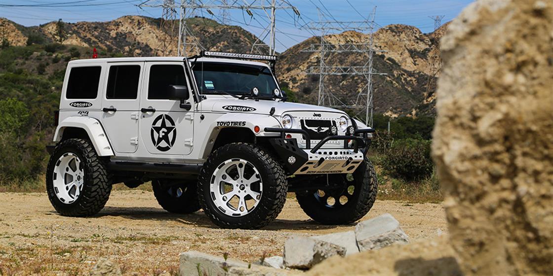 Jeep -  - Wheels & Tires - Paint -  Wraps & Body - Lighting - Performance