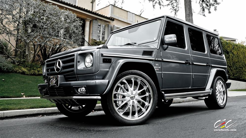 Mercedes-Benz - G-Class -  - Wheels & Tires