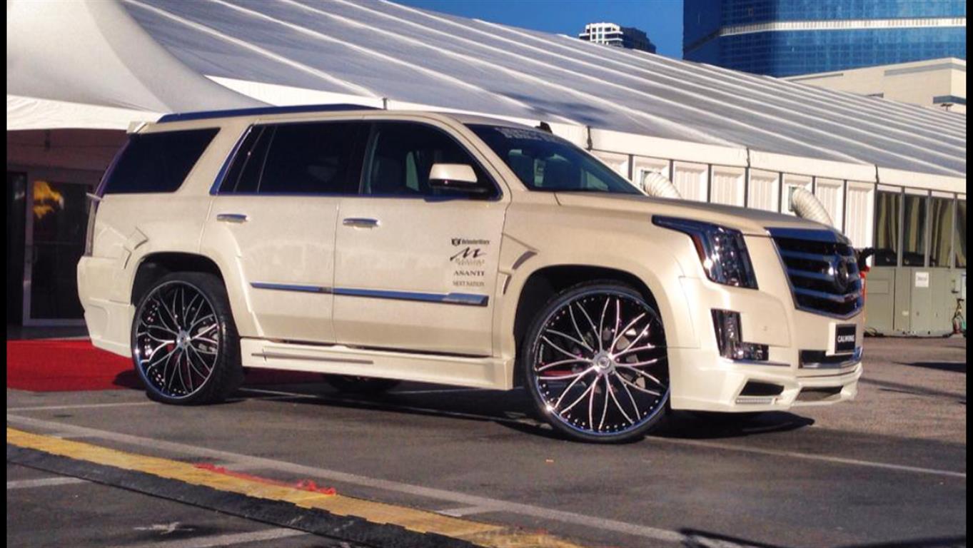 Cadillac - Escalade - 2014 - Wheels & Tires - Paint -  Wraps & Body - Interior - Performance
