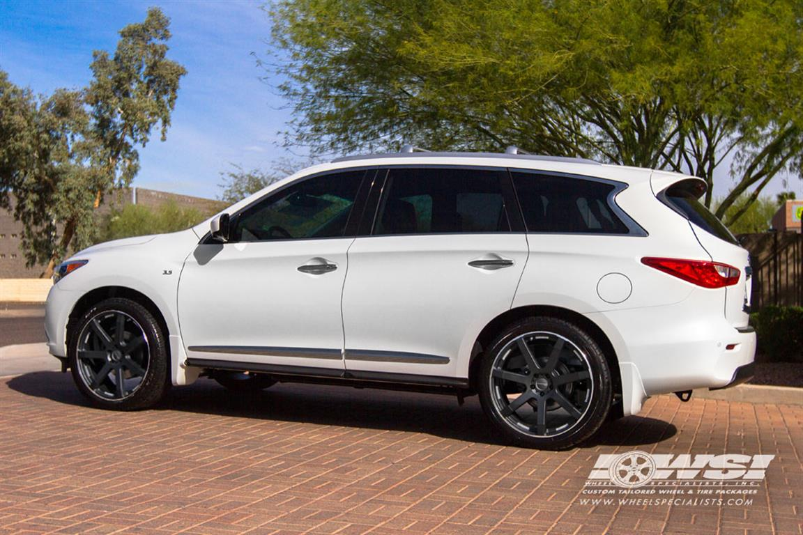 Used Cars In Tri State Area Photos of 2014 Infiniti QX60 with Giovanna Wheels by Wheel Specialists ...