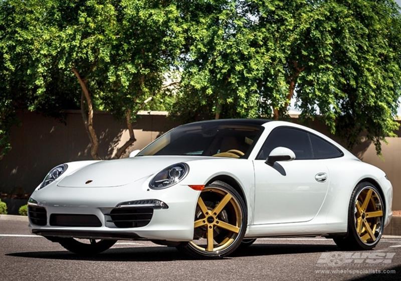 Porsche - 911 - 2013 - Wheels & Tires