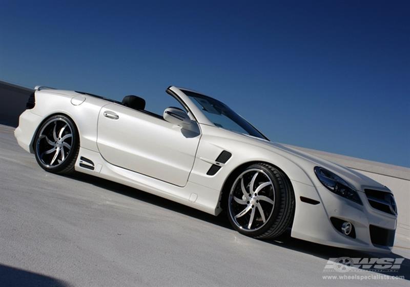 Mercedes-Benz - SL-Class - 2009 - Wheels & Tires